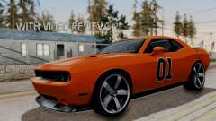 Dodge Challenger SRT-8 2010 купе para GTA San Andreas