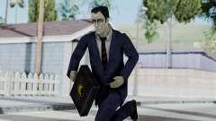 GMAN v1 from Half Life para GTA San Andreas