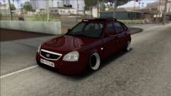 Lada Priora Ukrainian Stance para GTA San Andreas