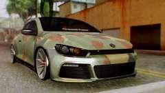Volkswagen Scirocco R Army Edition para GTA San Andreas