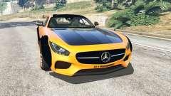 Mercedes-Benz AMG GT 2016 [LibertyWalk] para GTA 5