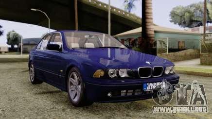 BMW 530D E39 2001 Stock para GTA San Andreas