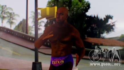 Titus ONeil para GTA San Andreas