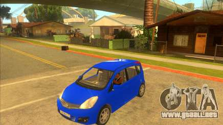 Nissan Note v0.5 Beta para GTA San Andreas