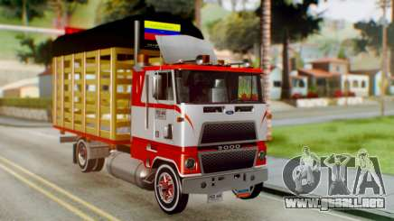 Ford 9000 Con Estacas Stylo Colombia para GTA San Andreas