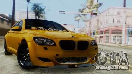 BMW 750Li M Sport para GTA San Andreas