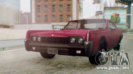 GTA 5 Vapid Chino Tunable PJ para GTA San Andreas