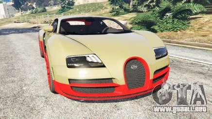 Bugatti Veyron Super Sport para GTA 5