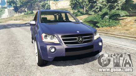 Mercedes-Benz ML63 (W164) 2009 para GTA 5