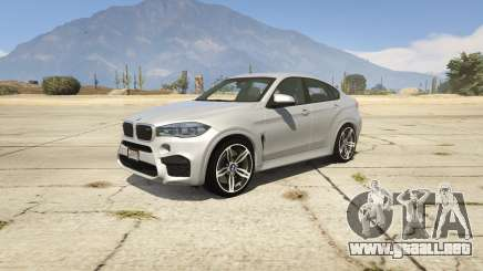 BMW X6M F16 Final para GTA 5