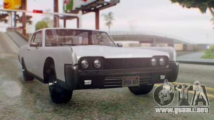 GTA 5 Vapid Chino Tunable IVF PJ para GTA San Andreas