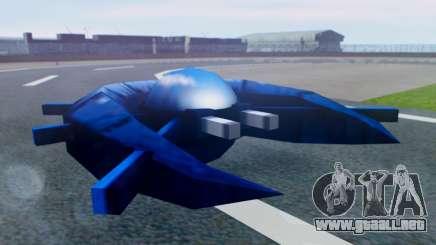 Alien Ship Dark Blue para GTA San Andreas