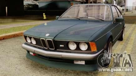 BMW M635 E24 CSi 1984 Stock para GTA San Andreas