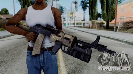 CoD Black Ops 2 - AN-94 para GTA San Andreas tercera pantalla