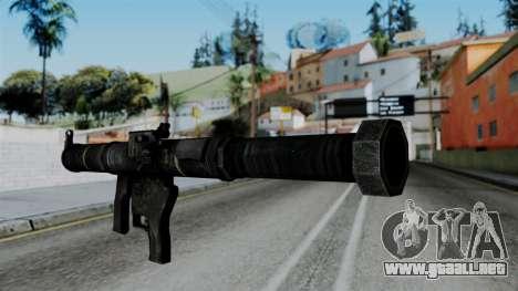 CoD Black Ops 2 - SMAW para GTA San Andreas segunda pantalla