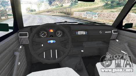GTA 5 VAZ-2104 [Beta] vista lateral trasera derecha