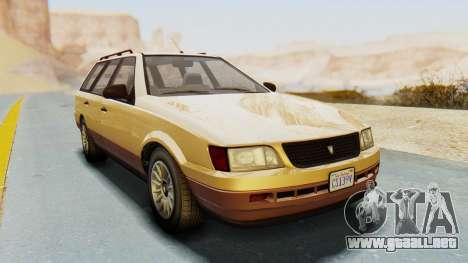 GTA 5 Vulcar Ingot para la visión correcta GTA San Andreas