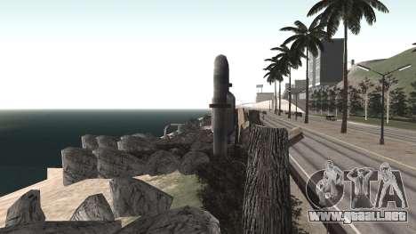 Road repair Los Santos - Las Venturas para GTA San Andreas undécima de pantalla