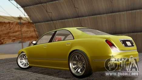 GTA 5 Enus Cognoscenti 55 IVF para GTA San Andreas left
