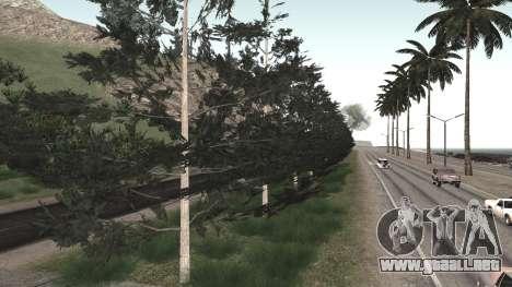 Road repair Los Santos - Las Venturas para GTA San Andreas twelth pantalla