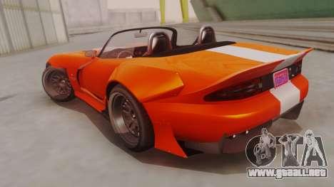 GTA 5 Bravado Banshee 900R para GTA San Andreas left