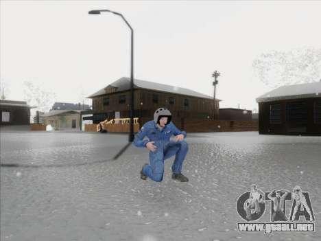 El piloto de la VC de la Federación de rusia para GTA San Andreas tercera pantalla