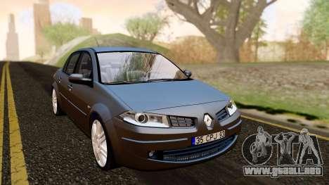 Renault Megane CPJ para la visión correcta GTA San Andreas