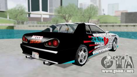 Elegy 4 Drift Drivers V2.0 para GTA San Andreas left