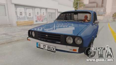 Dacia 1310 TX 1984 para GTA San Andreas