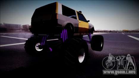 Club Monster Truck para GTA San Andreas left