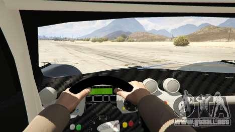 GTA 5 Pagani Zonda R v1.0 vista trasera