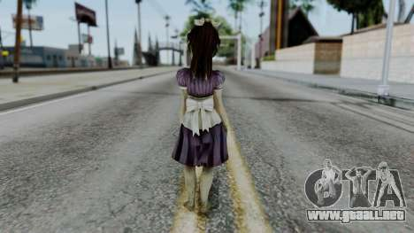 Bioshock 2 - Little Sister para GTA San Andreas tercera pantalla