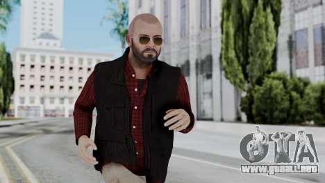 Hunter Costume Michael para GTA San Andreas