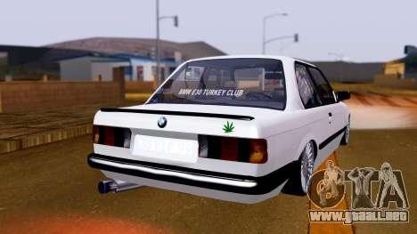 BMW M3 E30 Special para GTA San Andreas left