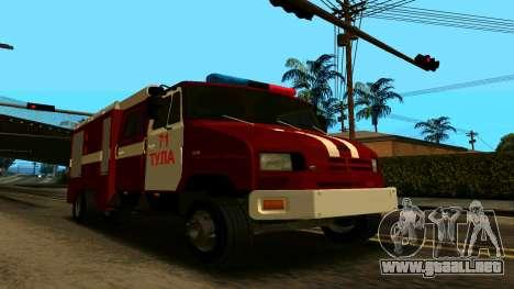 ZIL-5301 para visión interna GTA San Andreas