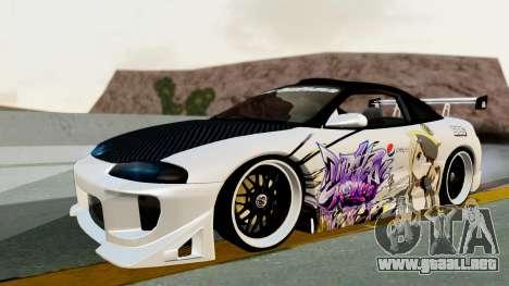 Mitsubishi Eclipse 1999 Mugi Itasha v2 para GTA San Andreas