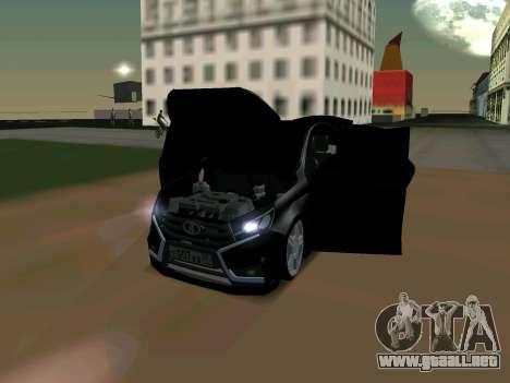 Lada Vesta 2016 para GTA San Andreas left