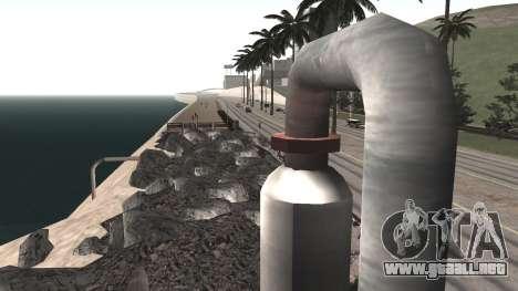 Road repair Los Santos - Las Venturas para GTA San Andreas sexta pantalla