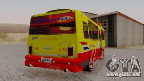 PAZ 3205 Stylo Colombia para GTA San Andreas left