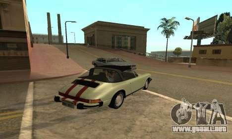 Porsche 911 Targa 1974 para GTA San Andreas left