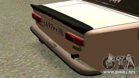 VAZ 2101 BC para la visión correcta GTA San Andreas