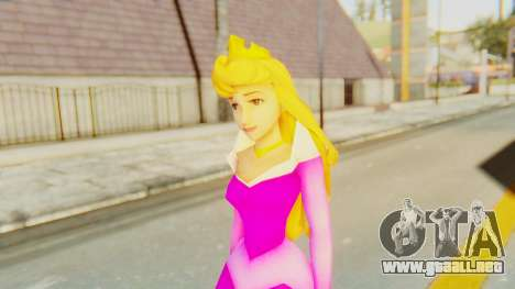 Sleep Beauty Aurora Pink para GTA San Andreas