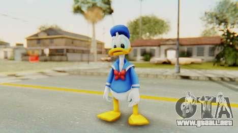 Kingdom Hearts 2 Donald Duck v1 para GTA San Andreas segunda pantalla