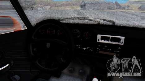 Porsche 993 GT2 RWB GARUDA para visión interna GTA San Andreas
