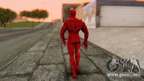 Marvel Heroes - Carnage para GTA San Andreas tercera pantalla