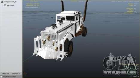 GTA 5 Mad Max The War Rig vista lateral derecha