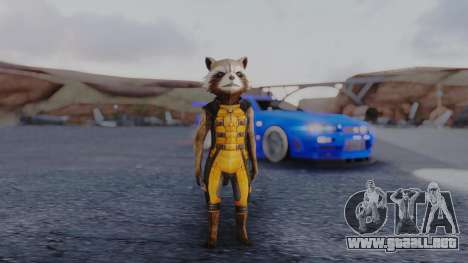 Marvel Future Fight - Rocket Raccon para GTA San Andreas segunda pantalla