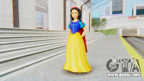Snow White para GTA San Andreas segunda pantalla