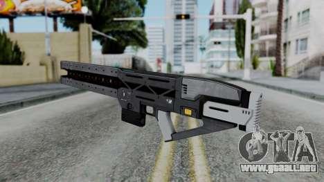 GTA 5 Railgun - Misterix 4 Weapons para GTA San Andreas tercera pantalla