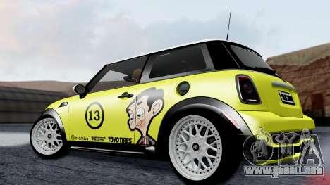 Mini John Cooper Works Mr.Bean para GTA San Andreas left